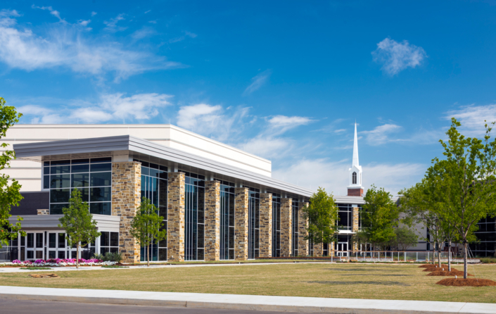 First Baptist Church Covington exterior | DonahueFavret General Contractors Louisiana and Gulf South