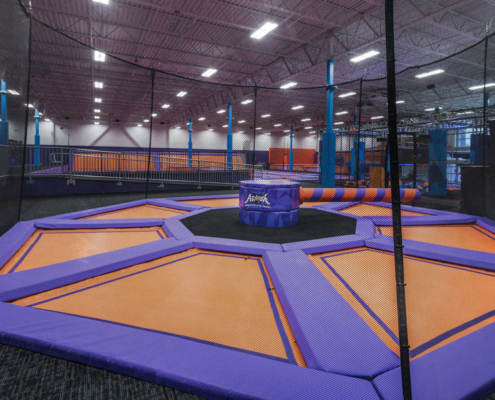 Altitude Trampoline Park, Slidell, LA interior| DonahueFavret General Contractors Louisiana and Gulf South
