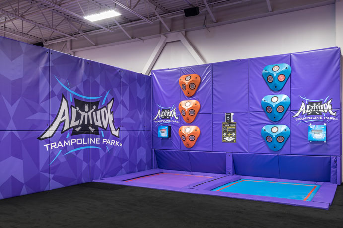Altitude Trampoline Park, Slidell, LA | DonahueFavret Contractors | Louisiana and Gulf South