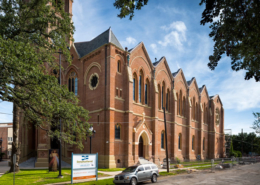 St. Stephen Church facade | DonahueFavret General Contractors Louisiana and Gulf South