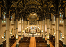 St. Stephen Catholic Church interior | DonahueFavret General Contractors Louisiana and Gulf South