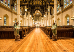 St. Stephen Church Interior | DonahueFavret Contractors | Louisiana and Gulf South