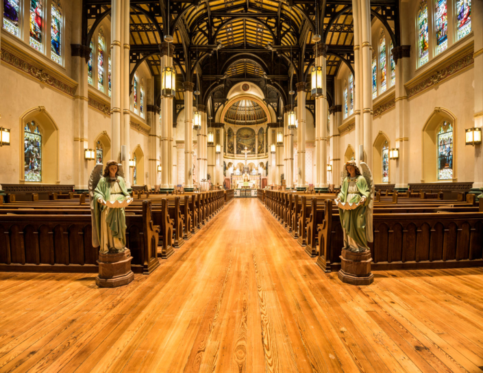 St. Stephen Church interior | DonahueFavret General Contractors Louisiana and Gulf South