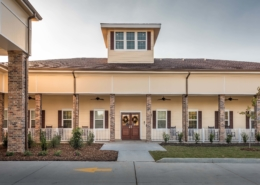 Main Entry Camelot Community Care | DonahueFavret Contractors | Louisiana and Gulf South