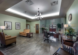 Lobby Camelot Community Care | DonahueFavret Contractors | Louisiana and Gulf South