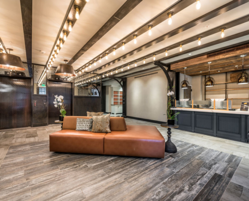 Mercantile Hotel lobby | DonahueFavret General Contractors, Louisiana and Gulf South