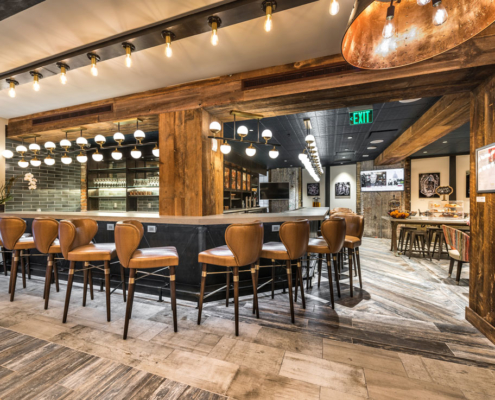 Mercantile Hotel bar | DonahueFavret General Contractors, Louisiana and Gulf South