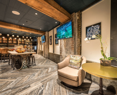 Mercantile Hotel lounge | DonahueFavret General Contractors, Louisiana and Gulf South
