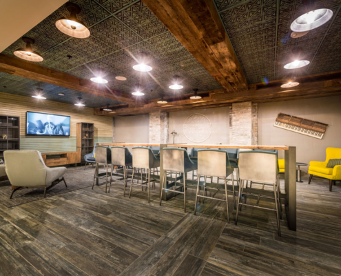 Mercantile Hotel social space | DonahueFavret General Contractors, Louisiana and Gulf South