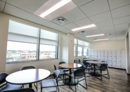 TRMC Women's Clinic break room | DonahueFavret General Contractor, Louisiana and Gulf South