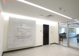 TRMC Women's Clinic lobby | DonahueFavret General Contractor, Louisiana and Gulf South