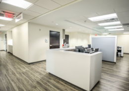 TRMC Women's Clinic Nurse Station | DonahueFavret General Contractor, Louisiana and Gulf South
