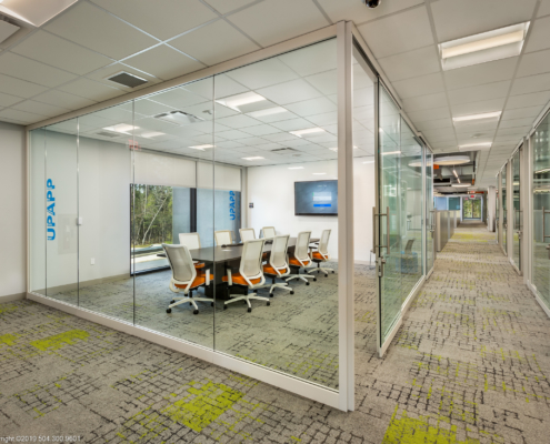 Globalstar Headquarters meeting room | DonahueFavret General Contractor, Louisiana and Gulf South