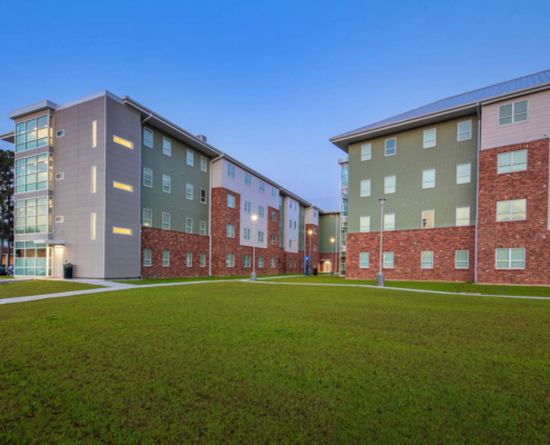 DonahueFavret General Contractor, Louisiana, Southeastern Louisiana University Student Housing | Donahue Favret Contractors, Inc.