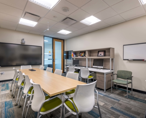 Study Room at Tulane University Murphy Building 12th Floor | DonahueFavret General Contractor, Louisiana and Gulf South
