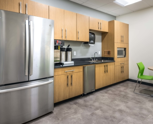 DonahueFavret General Contractor, Louisiana and Gulf South | Tulane University Murphy Building 9th floor kitchen