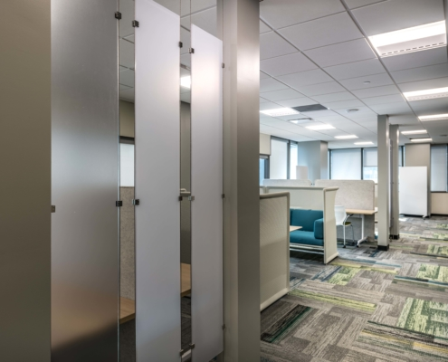 Study Area at Tulane University Murphy Building 12th Floor | DonahueFavret General Contractor, Louisiana and Gulf South