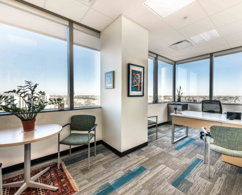 interior view Tulane University Murphy Building 12th Floor | DonahueFavret General Contractor, Louisiana and Gulf South