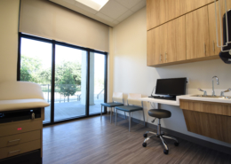 Exam Room at NOEH Pontchartrain Clinic | DonahueFavret General Contractor, Louisiana and Gulf South
