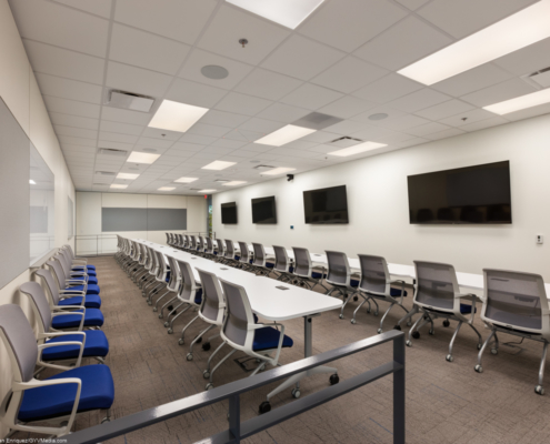 Training Room at at Beacon Offshore Covington, LA | DonahueFavret General Contractor, Louisiana and Gulf South