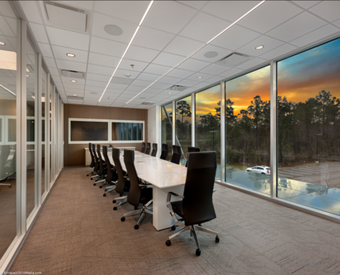 Board Room at at Beacon Offshore Covington, LA | DonahueFavret General Contractor, Louisiana and Gulf South