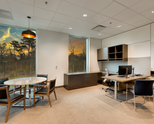 Office at at Beacon Offshore Covington, LA | DonahueFavret General Contractor, Louisiana and Gulf South