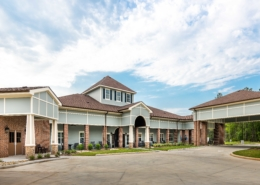 Exterior of at Trinity Trace Community Care Center, Covington LA | DonahueFavret General Contractor, Louisiana and Gulf South