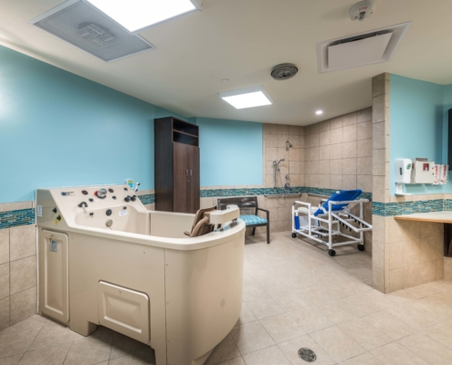 Wing Spa at at Trinity Trace Community Care Center, Covington LA | DonahueFavret General Contractor, Louisiana and Gulf South
