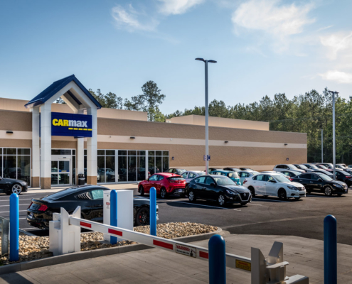 CarMax Covington, LA exterior | DonahueFavret General Contractor, Louisiana and Gulf South