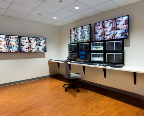 TRMC Telemetry room | DonahueFavret General Contractors | Louisiana and Gulf South