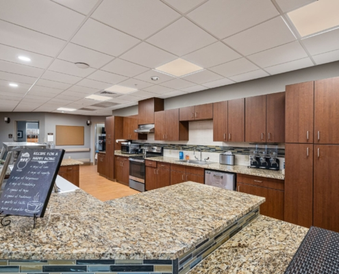 Old Brownlee Community Care Center wing warming kitchen | DonahueFavret General Contractor | Louisiana and Gulf South