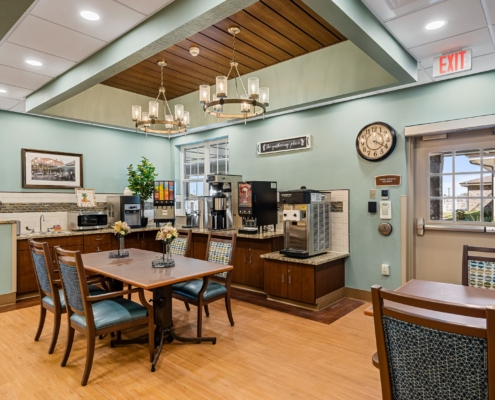 Old Brownlee Community Care Center cafe | DonahueFavret General Contractor | Louisiana and Gulf South