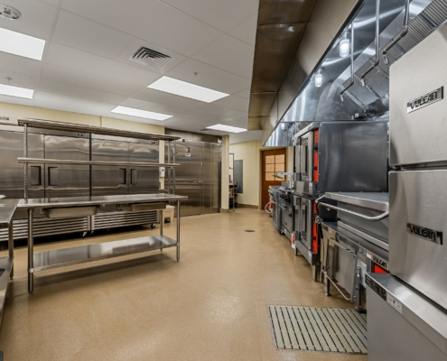 Old Brownlee Community Care Center main kitchen | DonahueFavret General Contractor | Louisiana and Gulf South
