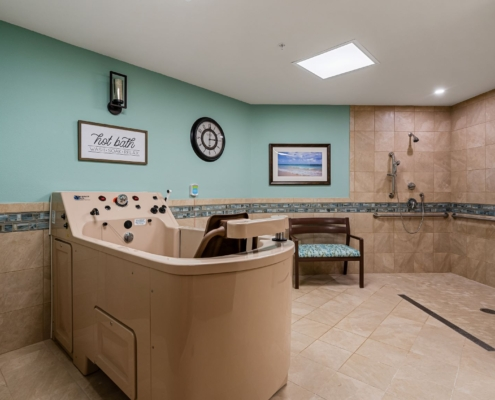 Old Brownlee Community Care Center wing spa | DonahueFavret General Contractor | Louisiana and Gulf South