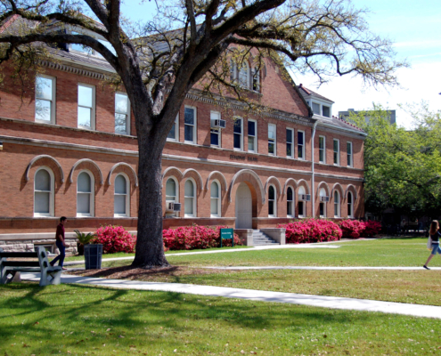 facade of Tulane Richardson Hall | DonahueFavret General Contractor | Louisiana and Gulf South