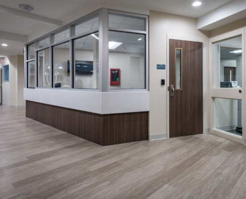 nurse station Oceans Behavioral Hospital renovation | DonahueFavret General Contractor | Louisiana and Gulf South